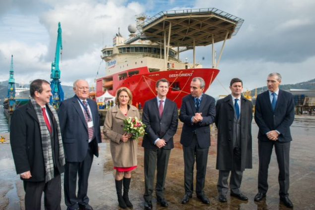 technip deep orient naming ceremony