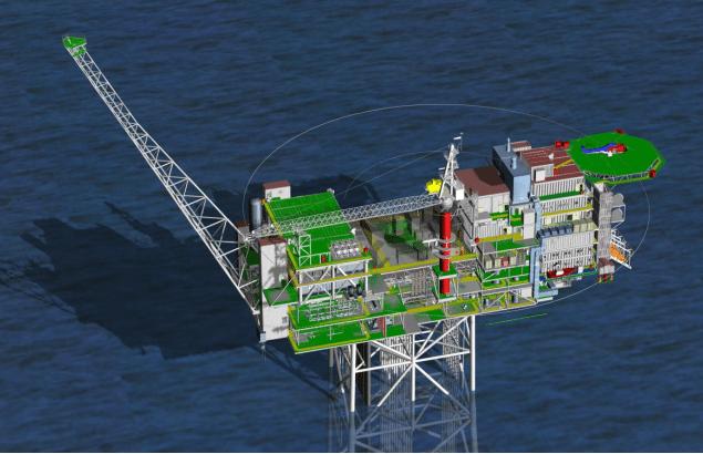 offshore platform topsides north sea