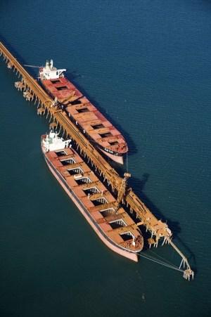 rio tinto cape lambert iron ore bulk carrier