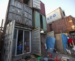 Shipping Containers Provide Meager Accommodations in Shanghai [IMAGES]