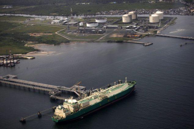 nigeria lng terminal shell