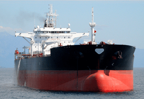 Each year, 80 million tonnes of oil are shipped off Canada's east and west coasts. Image courtesy Transport Canada