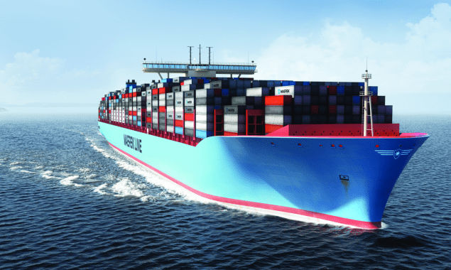 Illustration of the Maersk Triple-E
