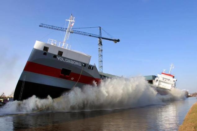 Volgaborg ship launch