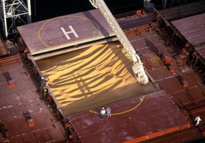The shipment was loaded onto the M/V UBC BREMEN. File photo.