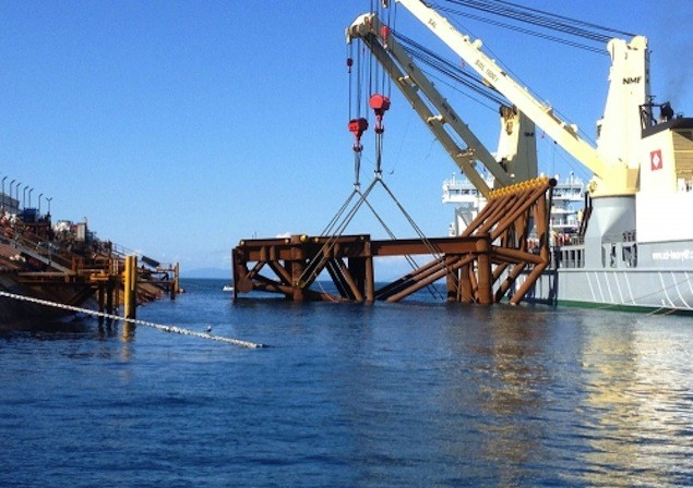 Photo: Parbuckling Project