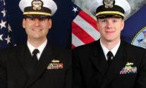 Guardian officers lcdr mark rice daniel tyler