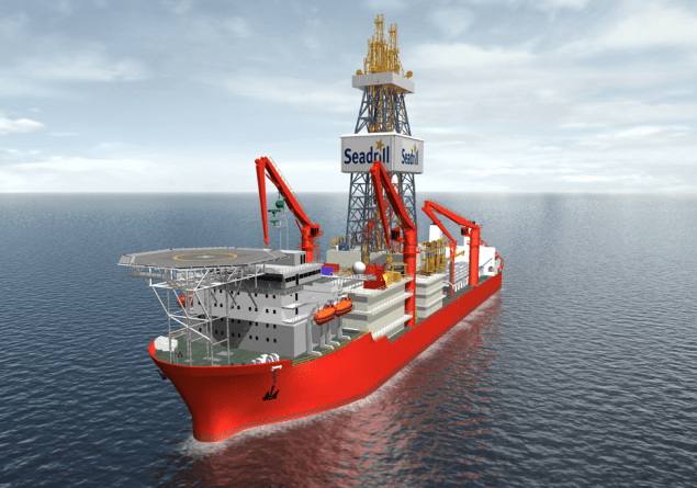 Illustration of Seadrill's West Neptune drillship. Image via Seadrill