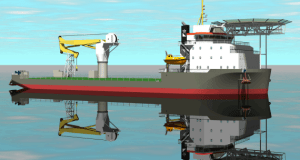 Boskalis' construction and support vessel, Ndeavor, is expected to be delivered this year. Photo: Boskalis