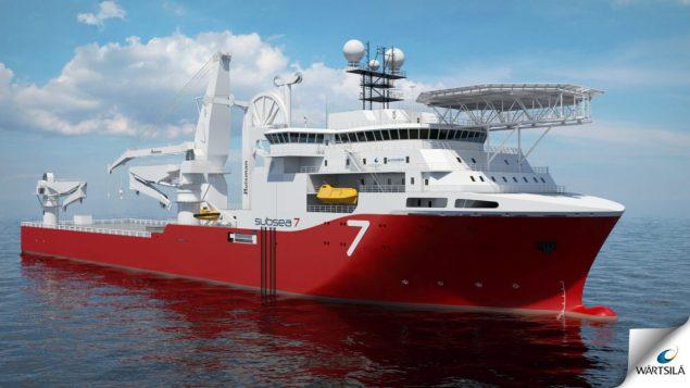 subsea 7 heavy construction vessel