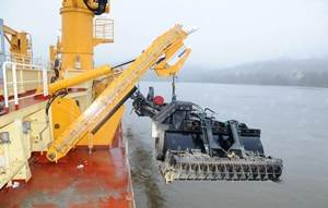 damen trailing pipe dredging