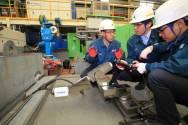 HHI Introduces Miniature Shipbuilding Robots