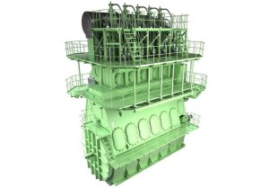 MAN B&W 5G70ME-GI Engine