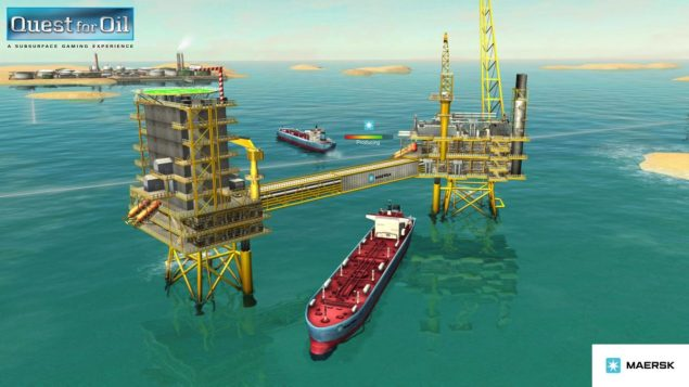 Image courtesy Quest for Oil/Maersk
