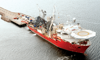 Technip Advanced Pipelay Vessel Apache II,