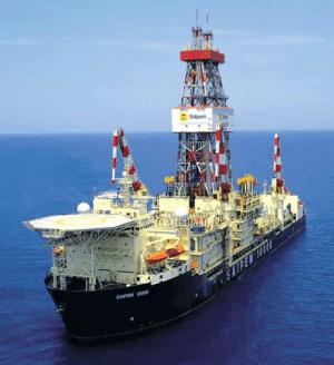 Saipem 10K drillship