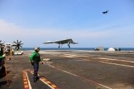 U.S. Navy Drone Makes Historic Carrier Landing [VIDEO]