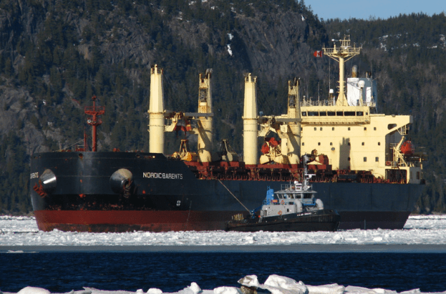 nordic barents bulk carrier ice class