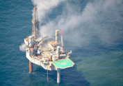 Hercules Jackup Suffers Loss of Well Control in U.S. Gulf of Mexico [INCIDENT PHOTOS]