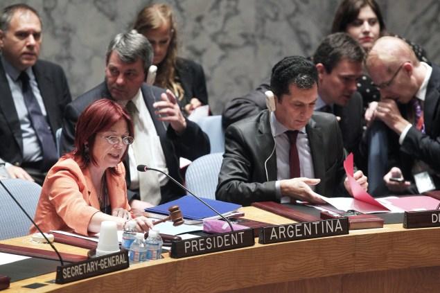 united nations Ambassador María Cristina Perceval