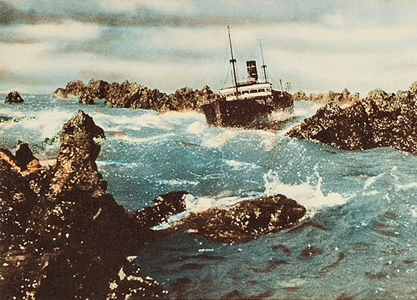 The Wreck of the Mary Deare ship