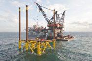 Thialf Installs World's Highest-Voltage Offshore Converter Station