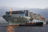 COSCO Asia Containership Attacked in Suez Canal