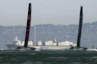 America's Cup Shrinks Boats to Cut Costs as Safety Becomes Issue