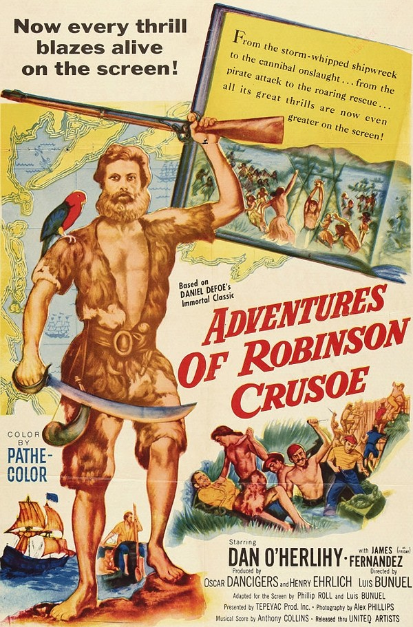 Adventures of Robinson Crusoe (United Artists, 1954)