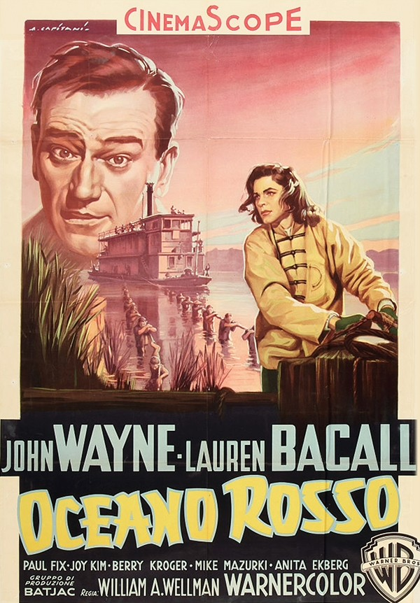 Blood Alley (Warner Brothers, 1955). Italian