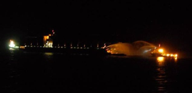 maersk kampala fire