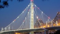 Construction of New San Francisco Bay Bridge in 4 Minutes – Timelapse Video