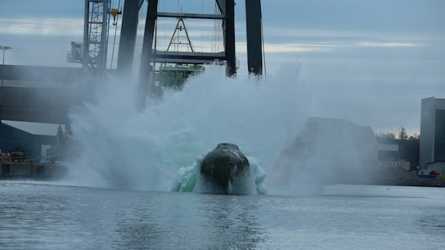 GES52 coming up out of the water. Image courtesy Norsafe