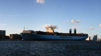 World's Largest Ship on Display in Copenhagen
