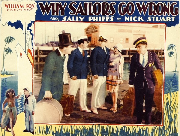 Why Sailors Go Wrong (Fox, 1928)