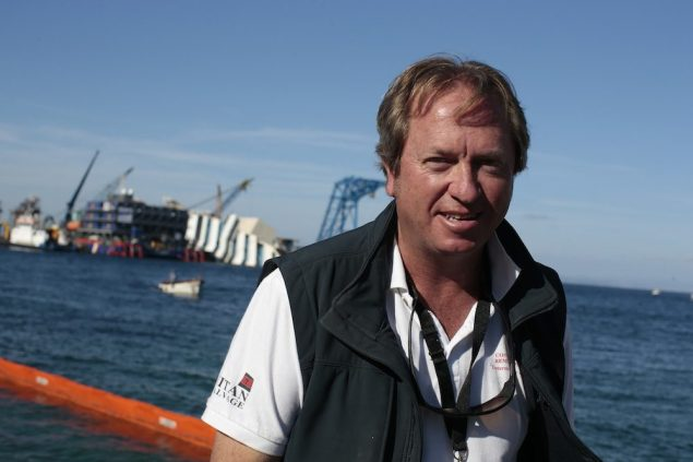 Nick Sloane, the South African Salvage Master who has led the operation for the U.S.-Italian contractors consortium Titan-Micoperi. REUTERS/Tony Gentile