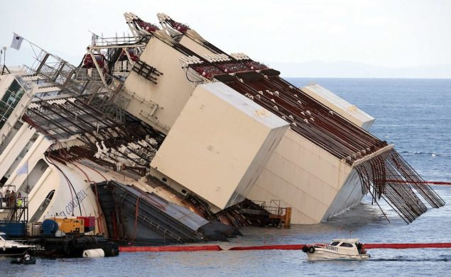Titan Salvage was part of the consortium that removed the Costa Concordia, considered the largest maritime salvage in history. REUTERS/Tony Gentile