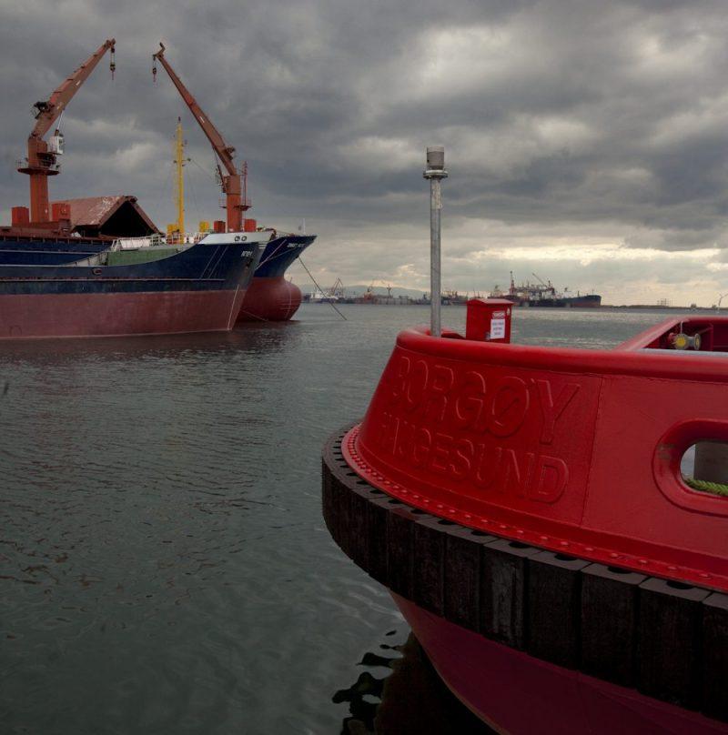 Borgøy lng powered tug Buksér og Berging sanmar