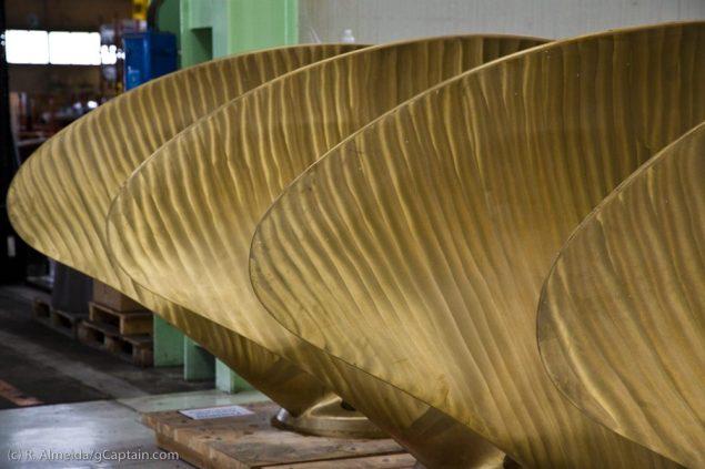 Wärtsilä propeller blade