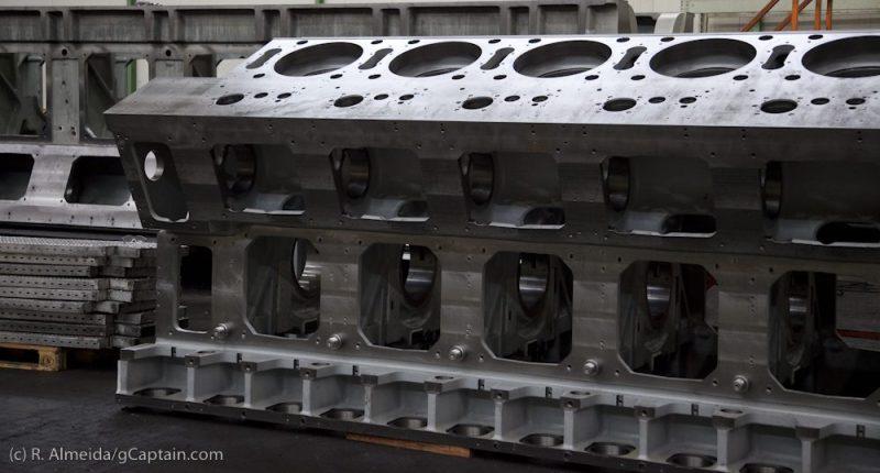 Wärtsilä engine trieste