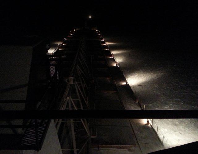 green bay wisconsin ship night great lakes