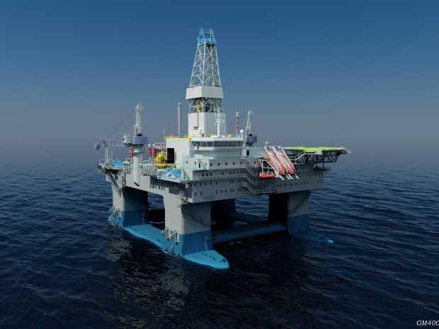 Global Maritime gm4000-d rig