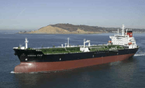 Jones Act tanker off San Diego file photo.