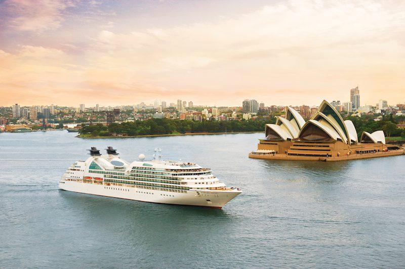 Seabourn Odyssey in Sydney Harbor. Photos courtesy Seabourn Cruises