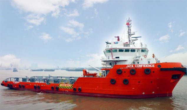 MV Jaya Confidence. Photo (c) Jaya Offshore