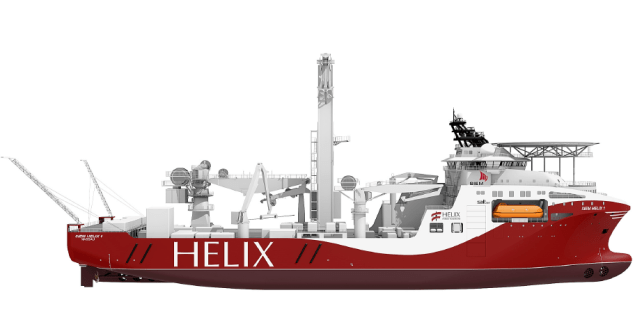 An illustration of the well intervention vessels