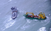 Adrift Cargo Ship Rescued from Bay of Biscay