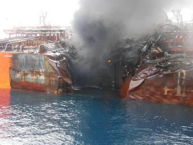Damage to the Maritime Maisie, via LR