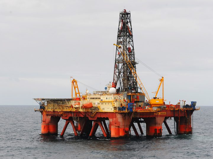 ocean vanguard drilling rig