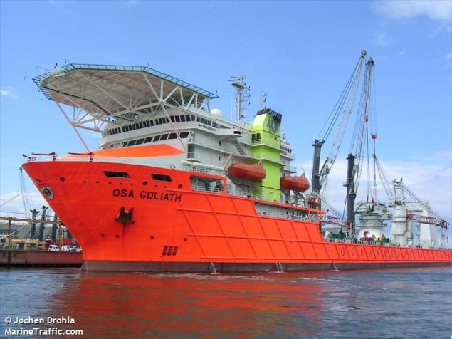 OSA Goliath. Photo: MarineTraffic/Jochen Drohla
